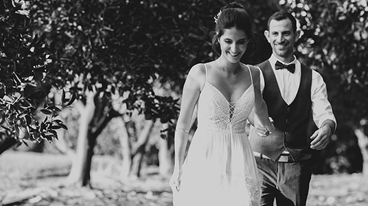 צלמים לחתונה רפי גירו צלם חתונות נוף