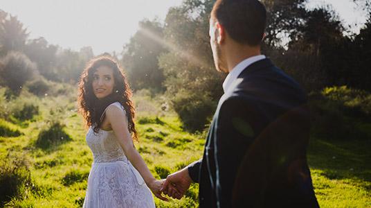 צלמ לחתונה נוף