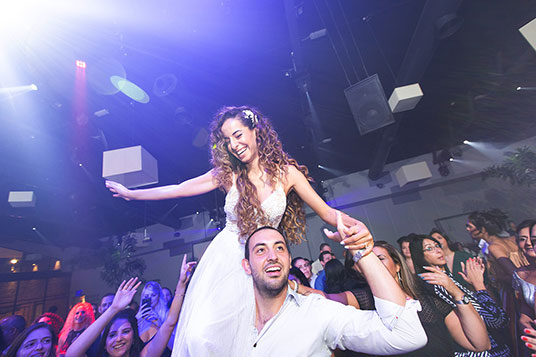 צילום חתונה בתל אביב